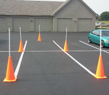 Driving Test Ohio Maneuverability Diagram - Diagrams online